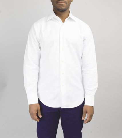 Hopkins Oxford Shirt - White