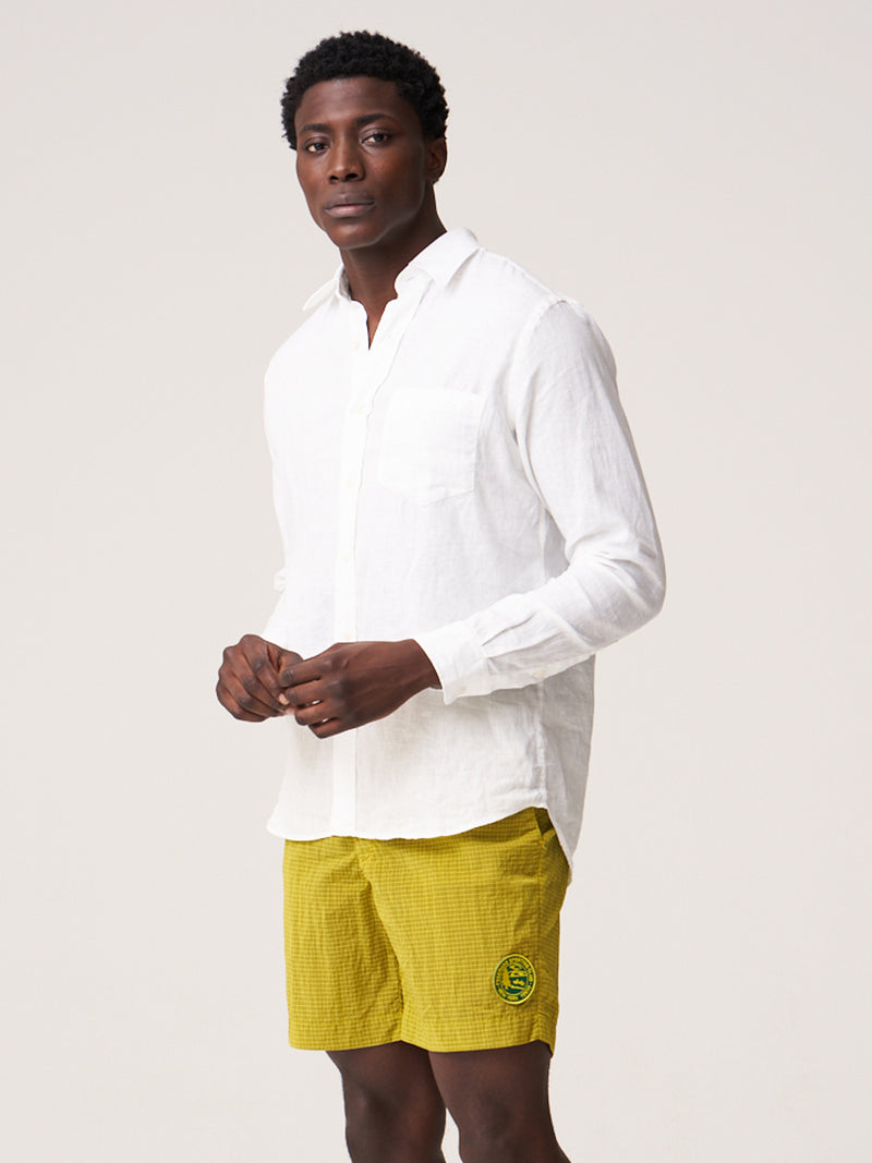 CS-1 Shirt - White Linen