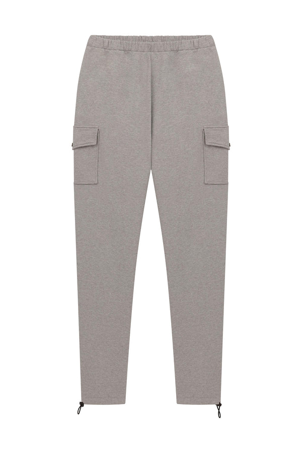 Fleece Cargo Pant - Heather Grey