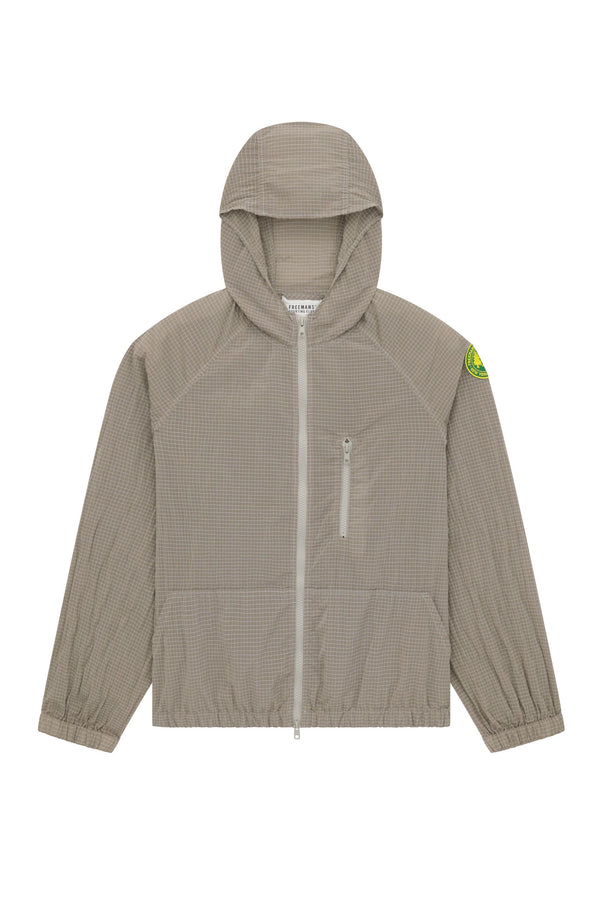Hooded Rain Jacket - Grey