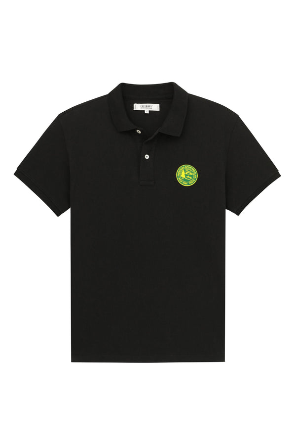 Knit Polo- Black