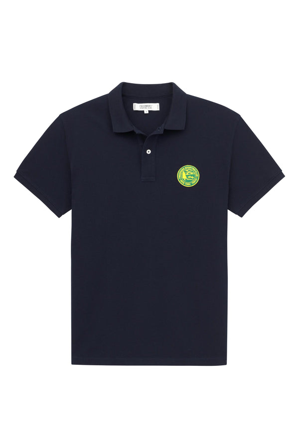 Knit Polo- Navy