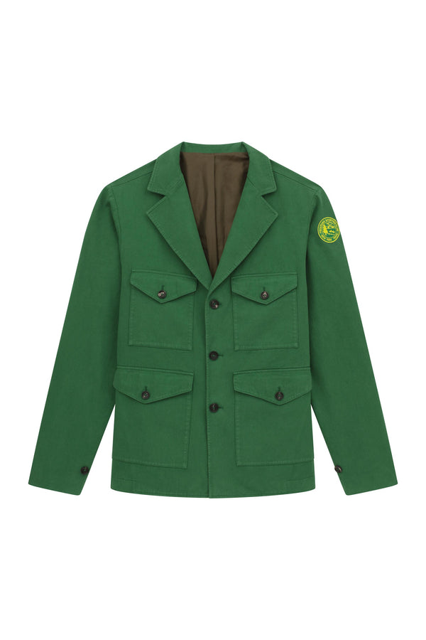 Pocket Coat - Dark Green