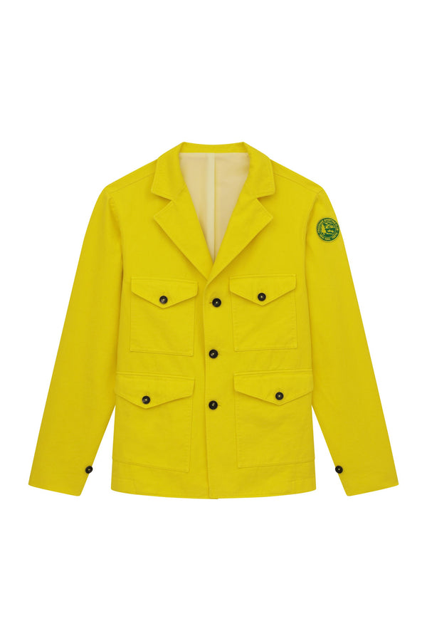 Pocket Coat - Yellow