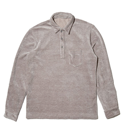 Long Sleeve Pullover - Grey