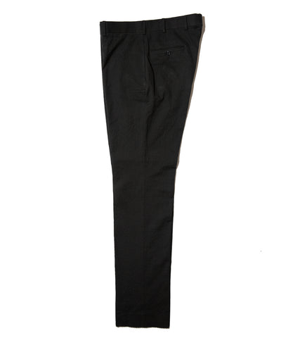Rivington Trouser - Black Seersucker