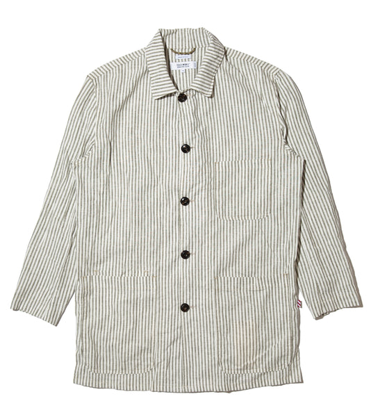 Freemans Smock- Juniper Stripe