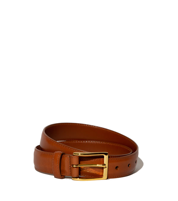 Alden Belt- Tan Calfskin