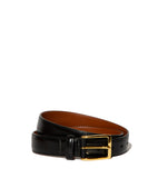 Alden Belt- Black Calfskin