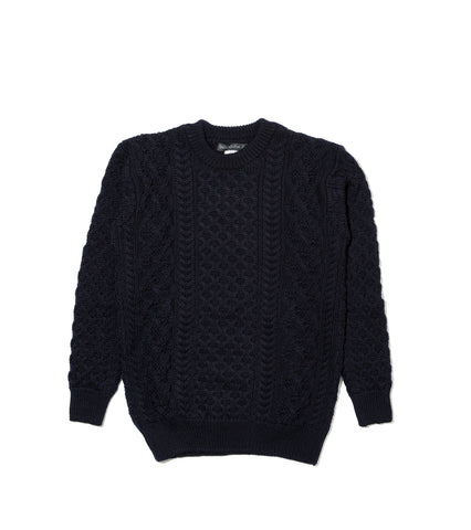 Aran Sweater- Midnight