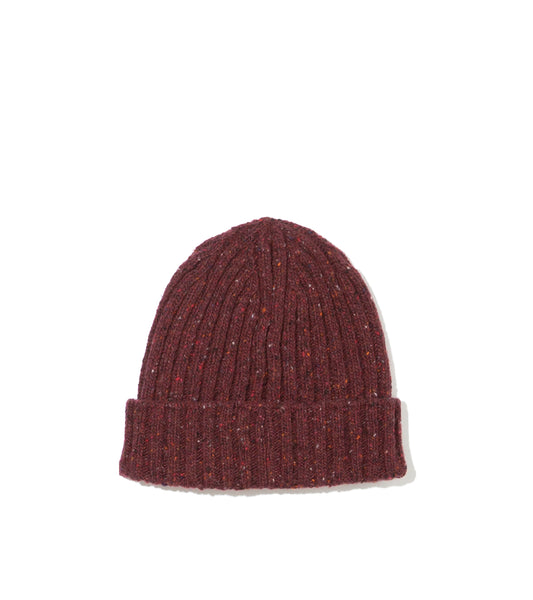 Ribbed Hat- Rich Burgundy