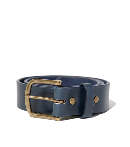 Freemans Belt- Navy