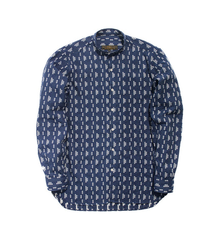 Band Collar Shirt - Apache