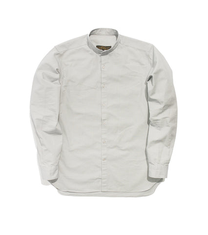 Band Collar Shirt - Cloud Ripstop