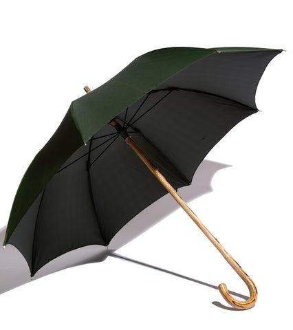 Francesco Maglia X Freemans Sporting Club- Green Hickory Umbrella