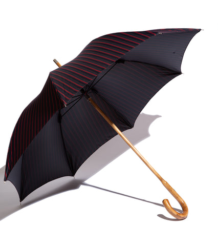 Francesco Maglia X Freemans Sporting Club- Navy/Red Stripe Maple Umbrella