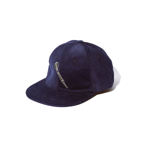 6- PANEL CAP - NAVY CORD DART