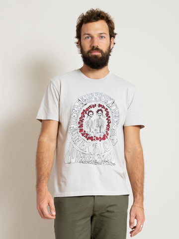 Printed T-Shirt - Grateful Gothic Peyote