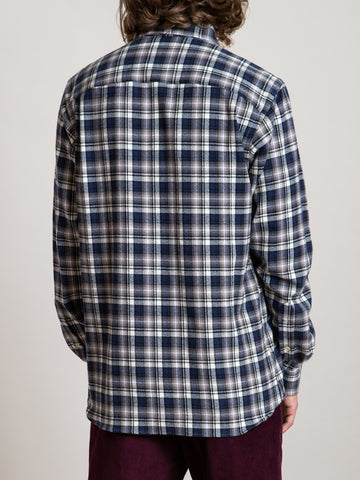 CS-1 Shirt- Navy Plaid