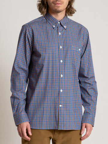 CS-1 Shirt- Blue Red Plaid
