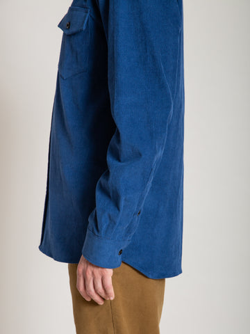 CS-2 Shirt- Blue Corduroy