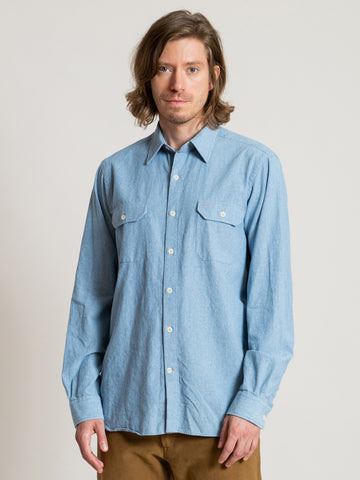 Work Shirt- Chambray
