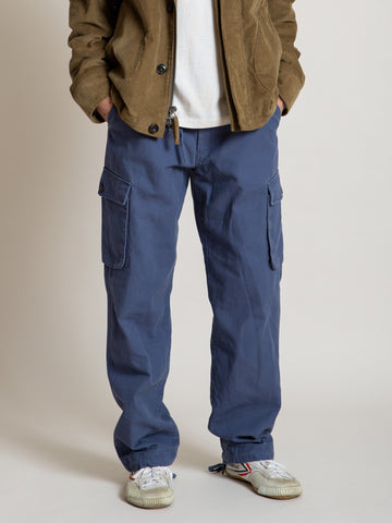 Cargo Pant- Slate Blue Canvas