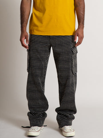 Cargo Pant- Black Floats
