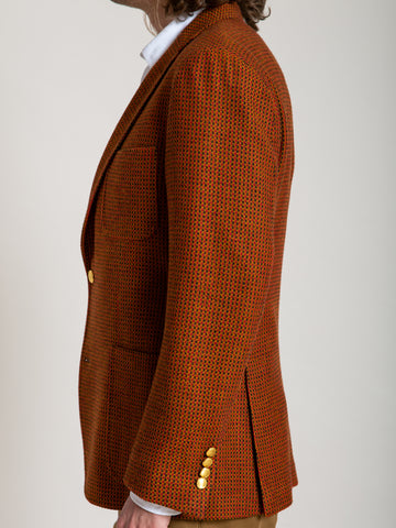 The Rivington Sports Coat - Red Birds Eye