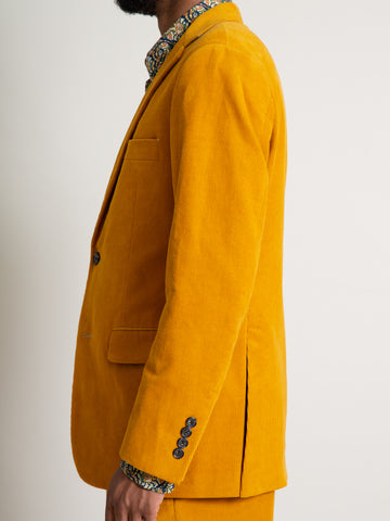 The Freeman Sports Coat - Gold Corduroy
