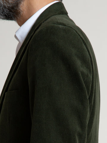 The Freeman Sports Coat - Green Corduroy