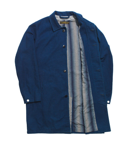 Studio Coat - Indigo