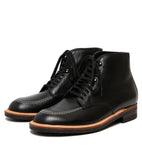 Alden Indy Boot- Black Calfskin