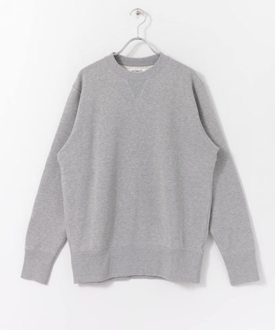 FREEMANS x LOOPWHEELER - GREY CREWNECK