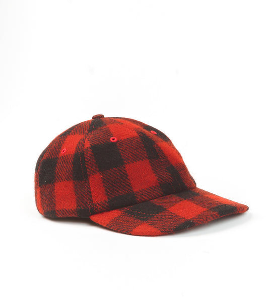 6-PANEL CAP - BUFFALO OMBRE WOOL