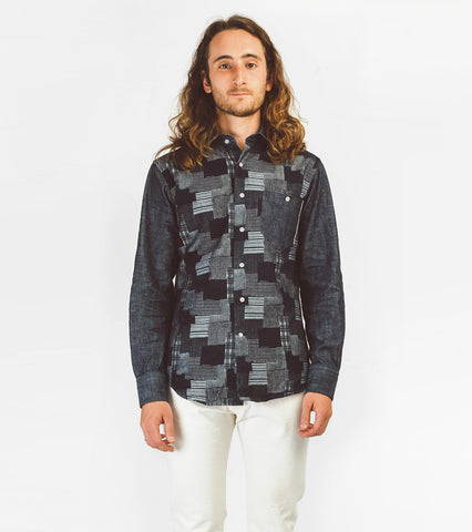 Hopkins Shirt - Selvedge Patchwork