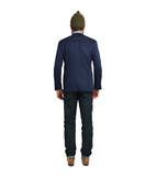 The Casual Freeman Sportcoat - Navy Knit