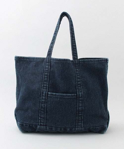 SASHIKO TOTE BAG LARGE - Indigo