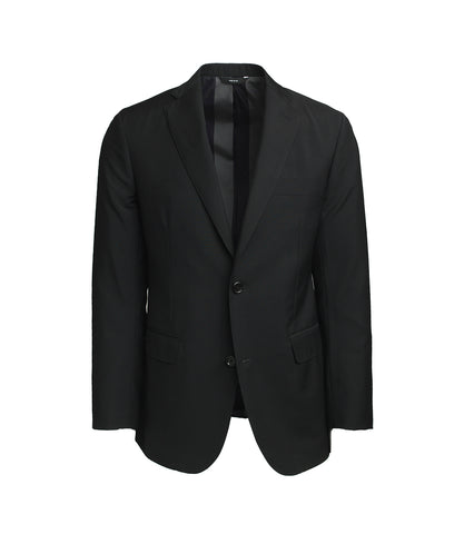The Freeman Suit - Black Mohair