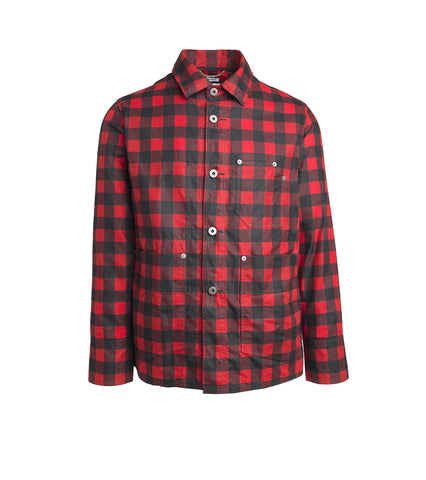 Chore Jacket - Waxed Red Plaid