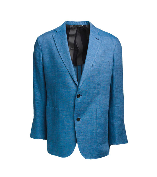 Freeman Sport Coat - Blue Linen