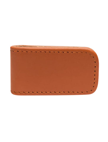 Ettinger- Magnetic Cash Clip Tan