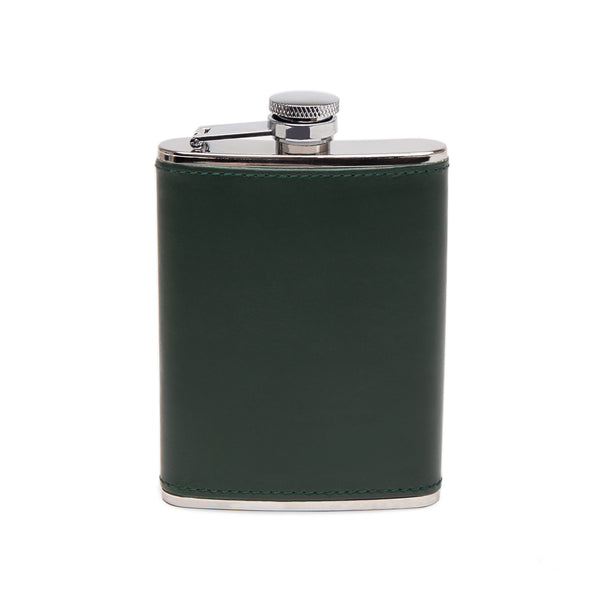 Ettinger- Green 6oz Captive Top Flask