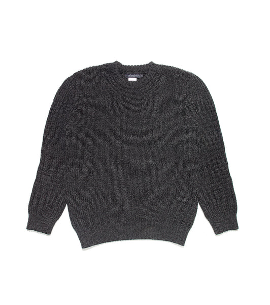 Rib Sweater- Anthracite