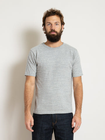 Homespun Athletic Tee - Mid Grey
