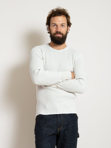 Homespun Crew Thermal - Oat Melange