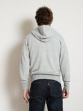 Homespun 1/4 Zip Parka- Mid Grey