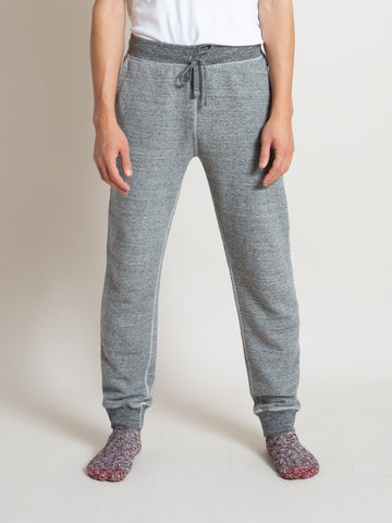Homespun Slim Gym Pant- Dark Grey