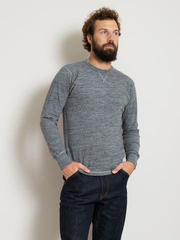 Homespun Gym Tee - Dark Grey