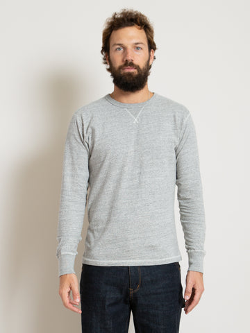 Homespun Gym Tee - Mid Grey
